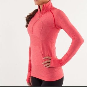 Lululemon Run Swiftly Tech Half Zip Size 4